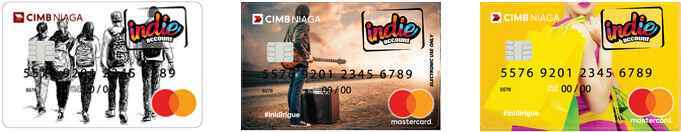 card picture indie account CIMB Niaga